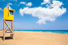 Jandia Sotavento beach Fuerteventura Canary. Jandia Sotavento beach Fuerteventura at Canary Islands playa Barca stock photos