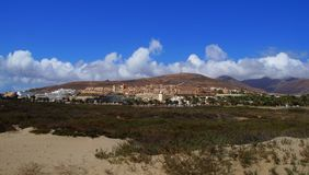 Jandia - Spain. Jandia Beach, Fuerteventura, canary island - Spain Stock Image