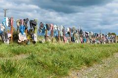 Jandle staket Fotografering för Bildbyråer