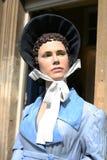 Jane Austen berömd författaremodell Portrait Royaltyfri Fotografi