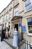 Jane Austen Centre Arkivbild