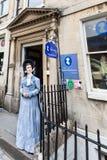 Jane Austen Centre Arkivbilder
