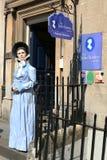 Jane Austen Centre Bath England Royaltyfria Bilder
