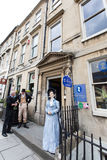 The Jane Austen Centre. Located in Gay Street, Bath, England Stock Photography
