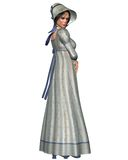 Jane Austen Character - 1 Royalty-vrije Stock Foto's
