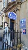 Jane Austen muzeum w skąpaniu Zdjęcia Stock