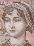 Jane Austen portret Zdjęcia Royalty Free