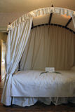 Jane Austen`s Bed Stock Images