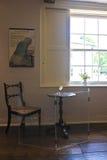 Jane Austen skrivbord Royaltyfri Bild