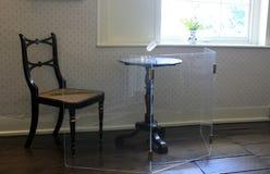 Jane Austen Writing stół Zdjęcie Royalty Free