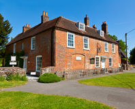 Jane Austens House. Jane Austen's House Museum in Chawton, England Royalty Free Stock Image
