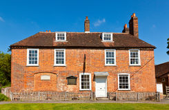 Jane Austens House. Jane Austen's House Museum in Chawton, England Royalty Free Stock Images