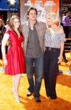 Jane Carrey, Jim Carrey y Jenny McCarthy fotos de archivo libres de regalías