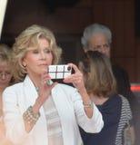 Jane Fonda Imagem de Stock Royalty Free