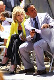 Jane Fonda/Benny Medina Royalty Free Stock Images
