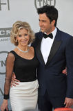 Jane Fonda et Troy Garity Images libres de droits
