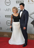 Jane Fonda et Troy Garity Images stock