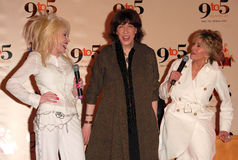Jane Fonda, leluja Tomlin, Dolly Parton Zdjęcie Stock