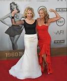 Jane Fonda y Denise Austin Imágenes de archivo libres de regalías