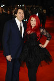 Jane Goldman, Jonathan Ross Stock Photography
