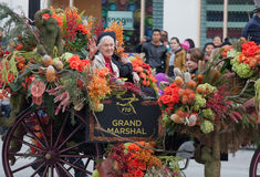 Jane Goodall--Grand Marshal Rose Bowl Parade 2013 Royalty Free Stock Image