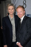 Jane Lynch, Jesse Tyler Ferguson Stock Photos