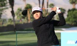 Jane Park på turneringen 2015 för ANA inspirationgolf arkivfoton