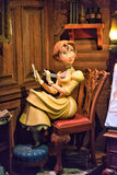 Jane Porter Statue, Disney Cartoon Character Stock Photos