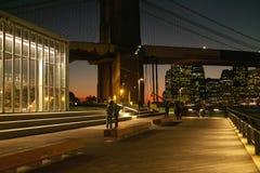 Janes Carousel, Brooklyn Bridge Park, New York USA Stock Photos