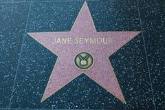 Jane Seymour gwiazda hollywoodu zdjęcie royalty free