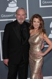Jane Seymour, James Keach immagini stock
