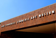 Jane Voorhees Zimmerli Art Museum Royalty Free Stock Photography