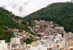janeiro Ρίο de favela στοκ εικόνα με δικαίωμα ελεύθερης χρήσης