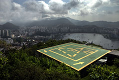 janeiro Ρίο de heliport Στοκ Φωτογραφία