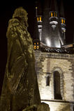 Janeiro Hus & igreja de Tyn Foto de Stock Royalty Free