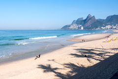 janeiro rio Бразилии de ipanema пляжа Стоковые Фото