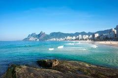 janeiro rio Бразилии de ipanema пляжа Стоковое Изображение