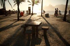 janeiro rio пляжа de ipanema Стоковое Изображение RF