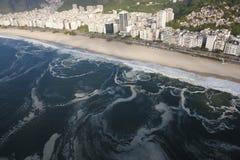 janeiro rio пляжа de ipanema Стоковые Фотографии RF
