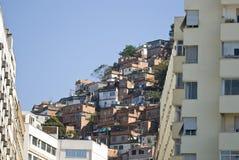 janeiro rio de favela Стоковое Фото