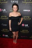 Janel Parrish at the 14th Annual Young Hollywood Awards, Hollywood Athletic Club, Hollywood, CA 06-14-12 Royalty Free Stock Images