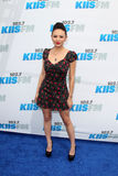 Janel Parrish arrives at the  Stock Photo