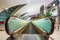 Janela abstrata no aeroporto Imagem de Stock Royalty Free