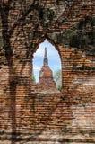 Janela antiga do santuário Fotografia de Stock