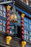 Janela antiga em Aix-la-Chapelle, Alemanha Foto de Stock Royalty Free