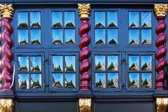 Janela antiga em Aix-la-Chapelle, Alemanha Fotos de Stock Royalty Free