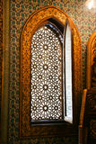 Janela antiga em Mohammed Ali Palace - o Cairo, Egito Imagens de Stock Royalty Free