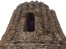 Janela antiga quebrada velha da construção Fotografia de Stock Royalty Free