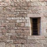 A janela arqueada Imagens de Stock