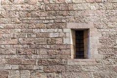 A janela arqueada Fotografia de Stock Royalty Free